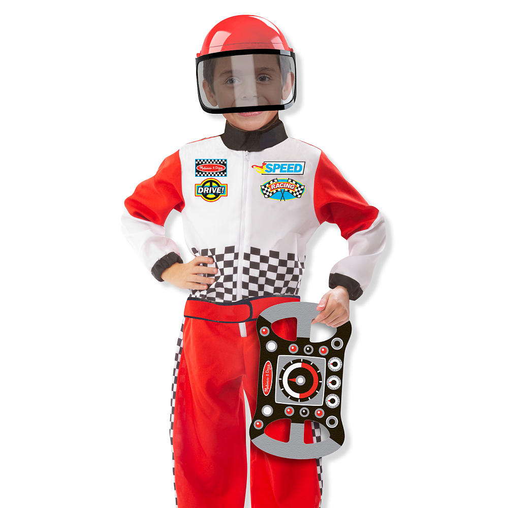 Костюм гонщика Melissa & Doug Race Car Driver