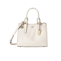 COACH Crossgrain Leather Crosby Carryall
