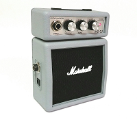 Marshall Amps M-MS-2J-U Micro Guitar Amplifier