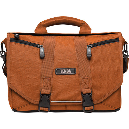 Tenba Photo/Laptop Messenger Bag (Mini, Burnt Orange)